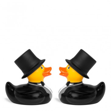 Bud Ducks Mini Deluxe Groom & Groom Ducks