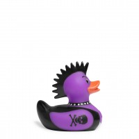 Mini Deluxe Punk Rocker Duck