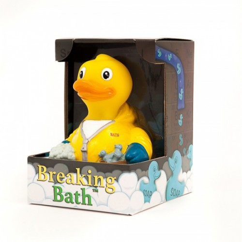 CelebriDucks Breaking Bath Duck