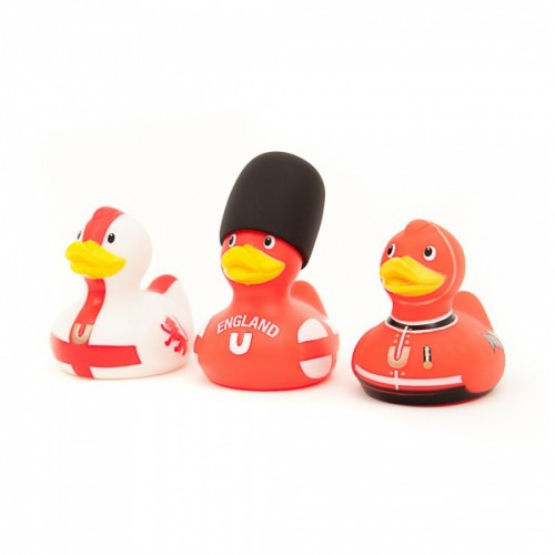 Bud Ducks Mini Deluxe England Duck Set