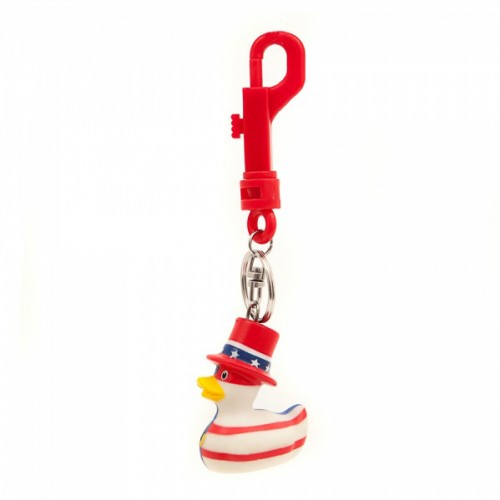 Bud Ducks USA Mini Duck Keyring